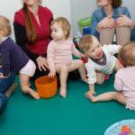 Kleinkinder-Gruppe